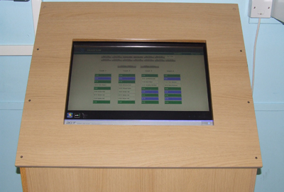 Touch Screen Booking Systems